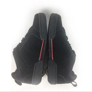 Heelys Shoes - HEELYS | black/ red wheeled shoes yth 6